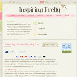 16 Wedding Websites to Help Every Bride