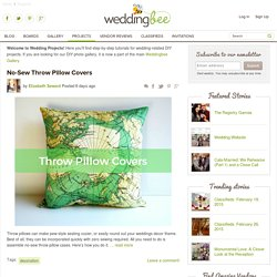 DIY Wedding Ideas - Weddingbee Tutorials and Templates.