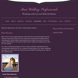 Maui wedding - Maui Wedding Planners