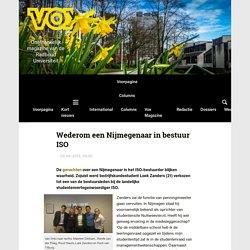 Wederom een Nijmegenaar in bestuur ISO - Vox magazine
