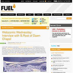 Webcomic Wednesday: Interview with B.Root of Dawn Chapel | Fuel Your Illustration