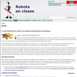 WeDo - Robots en classe