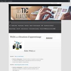WeDo 2.0-Situations d'apprentissage