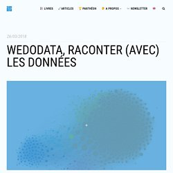 WeDoData, raconter (avec) les données