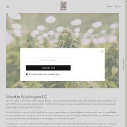 Weed In Washington DC