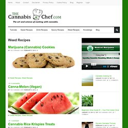 Weed Recipes | Marijuana Cooking, Recipes, Tutorials, Cannabutter, more