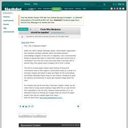 Weed Stuff - Slashdot User
