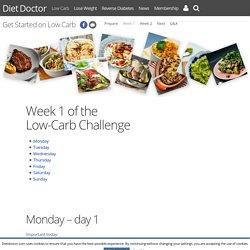 Week 1 - Diet Doctor