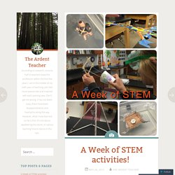 A Week of STEM activities!