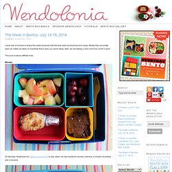 The Week in Bentos: July 14-18, 2014
