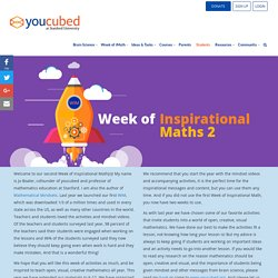 Week of Inspirational Math 2
