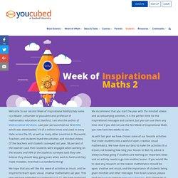 Week of Inspirational Math 2