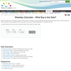Day date calculator online