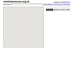 weekdaymasses.org.uk