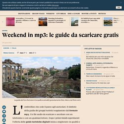 Weekend in mp3: le guide da scaricare gratis