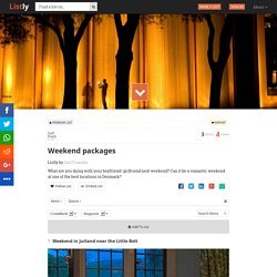 Weekend packages