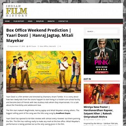 Box Office Weekend Prediction