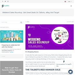 Weekend Sales Roundup: Get Great Deals On Talbots, eBay And Target