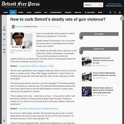 27 shot, 3 dead in weekend shootings across Detroit