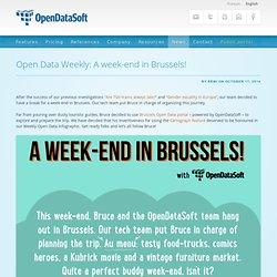 Open Data Weekly: A week-end in Brussels!