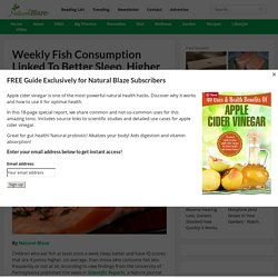 Weekly Fish Consumption Linked to Better Sleep, Higher IQ Study Says