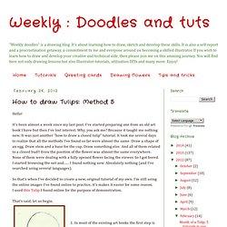 weekly doodles-sketching drawing learning original art tutorials how to draw sketch art for beginners שיעורי איור למתחילים שיעורי ציור אונליין ללמוד לצייר מציירים פרחים