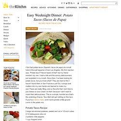 Easy Weeknight Dinner: Potato Tacos (Tacos de Papa) Recipes from The Kitchn