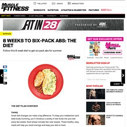 8 Weeks to Six-Pack Abs: The Diet
