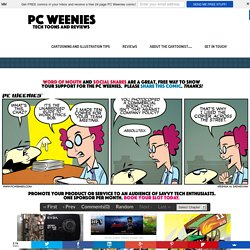 The PC Weenies - Tech Comics for Sys Admins, IT Professionals, Engineers and Computer Geeks!