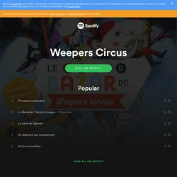 Weepers Circus on Spotify