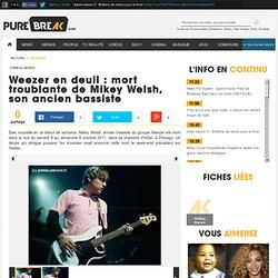 Weezer en deuil : mort troublante de Mikey Welsh, son ancien bassiste sur adobuzz