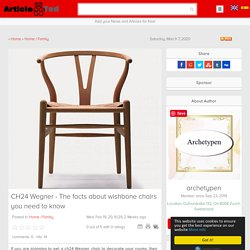CH24 Wegner - The facts about wishbone chairs you need to know