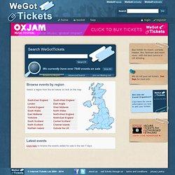 WeGotTickets - Your Online Box Office