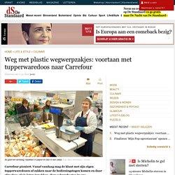 Weg met plastic wegwerpzakjes: voortaan met tupperwaredoos n...