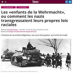 Les «enfants de la Wehrmacht», ou comment les nazis transgressaient leurs propres lois raciales