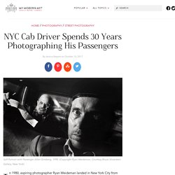 Ryan Weideman, the NYC Taxi Driver and Street Photographer