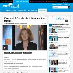 Katia Weidenfeld, L'impunité fiscale : la tolérance à la fraude - Parole d'auteur éco
