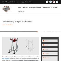 Lower Body Weight Equipment Manufacturers, Weight Equipment