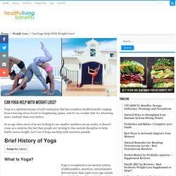 Can Yoga Help With Weight Loss? - Healthy Living Benefits