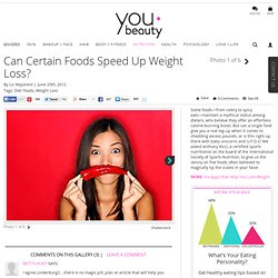 Weight Loss Foods – YouBeauty.com