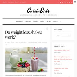 Weight Loss Shake