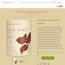 Best Organic Super Slim Down, Weight Loss Tea NZ - Puraty
