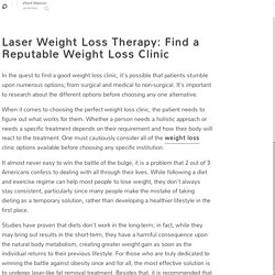 Louisville Weight Loss