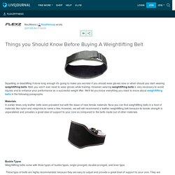 Things you Should Know Before Buying A Weightlifting Belt