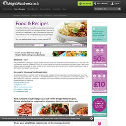 WeightWatchers.co.uk: Food & Recipes