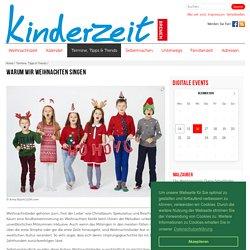 Warum wir Weihnachten singen - kinderzeit-bremen.de