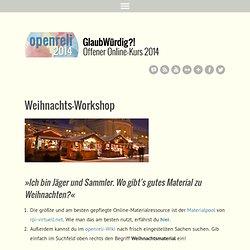 Weihnachts-Workshop