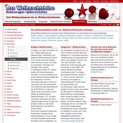 Weihnachtsbräuche: So feiert man in Europa: Das Weihnachtsbuero