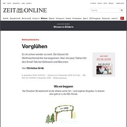 Weihnachtsmärkte: Grafik (Zeit.de)