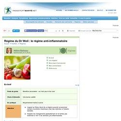 Dr Weil : le régime anti-inflammatoire